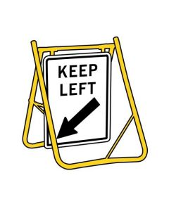 Keep Left S/Stand 450 x 600mm