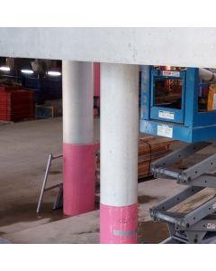 Consystex Round Column Formwork System, Medium Duty Lined Finish
