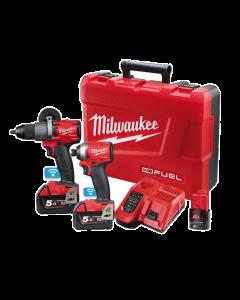Milwaukee M18 FUEL ONE-KEY 2 Piece Power Pack 2A2