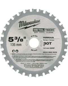 "Milwaukee Metal Saw Blades 5 3/8"""