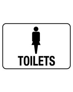 Information Sign - FEMALE TOILETS