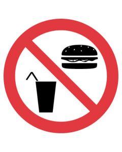 Jaybro No Food Or Drink 200mm Pk 5