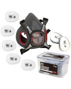 ProChoice Maxi Mask Half Face Respirator Handy Pack - P2