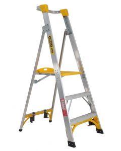 Platform Ladder - Aluminum
