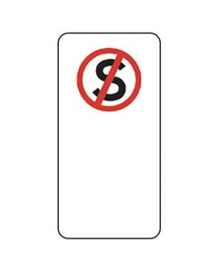 NO STANDING SIGN - Parking Signs 225 x 450mm