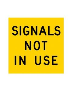 Signals Not In Use (MMS-ADV-49) WA Mutli Message Sign