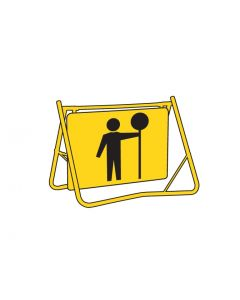 Swing Stand Sign Only - Traffic Controller Class 1 reflective 900 x 600mm