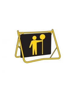 Swing Stand Sign Only - Traffic Controller Day/Night Class 1 reflective 900 x 600mm