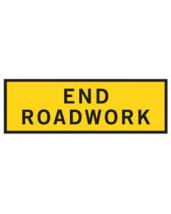 End Roadwork Bep 2400 x 900mm