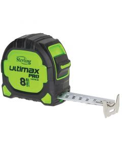 Ultimax Pro Tape Measure Easy Read 8M