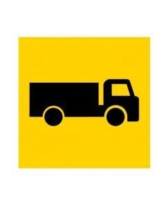 Truck pictogram (MMS-ADV-51) WA Mutli Message Sign