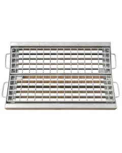 Vee Gully & Channel Grate and Frame
