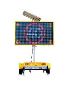 VMS Sign Trailer 5 Color Variable Message
