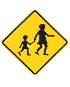 Warning Sign - CHILDREN CROSSING