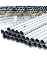Galvanised Steel Sign Post, 50mm x 3.2m