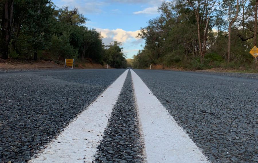 What is road marking paint?