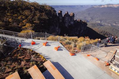 Fencing solutions for iconic lookout upgrade