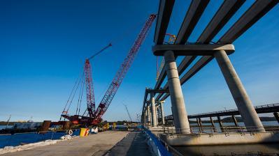 Jaybro Geosynthetic Range for Clarence River Bridge