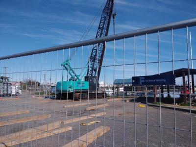 Temporary Fencing for $4m Westport Port Project