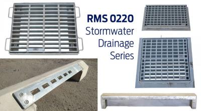 RMS R0220 Stormwater Gully Grates and Covers