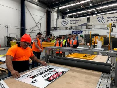 Students get hands-on experience at Jaybro's Industry Immersion Days