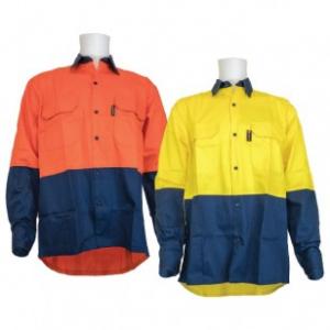 two tone high vis shirts